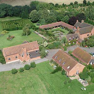 Aerial Shot of Alveston Pastures Farm
