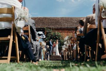 Alvestion Pastures Farm Wedding Ceremony 297