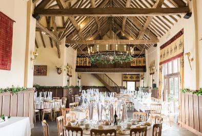 Alveston Pastures Farm Barn Set Up For Wedding (1)