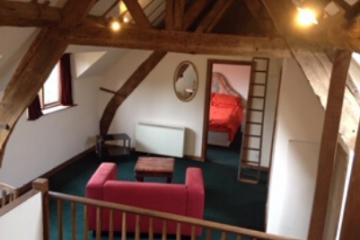 Living room & bedroom example