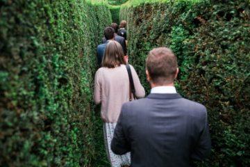 Walking through our maze